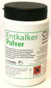 Pulver zum entkalken von Boilern